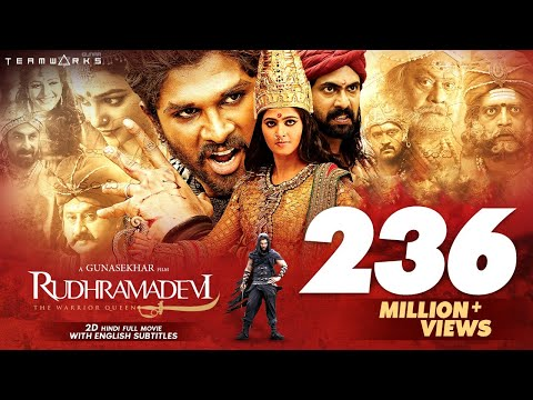 Rudhramadevi 2D Hindi Full HD Movie || Anushka Shetty, Allu Arjun, Rana || Gunasekhar