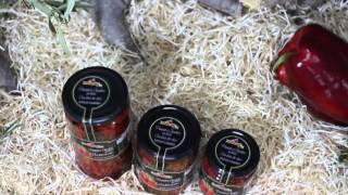 Pimientos asados en tiras a la leña de olivo