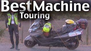 5. Suzuki Burgman 400 - Long Distance Touring Machine - Full Mods