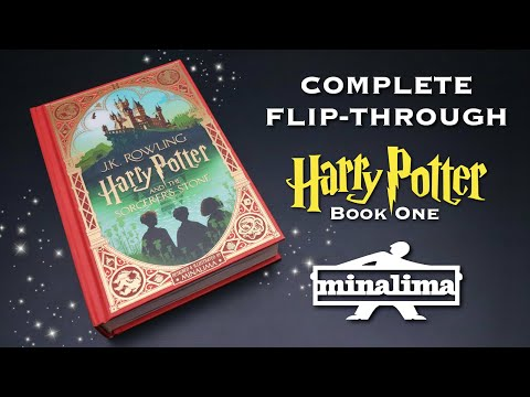 BRAND NEW Harry Potter Edition | Illustrated by MinaLima | FULL Flip-Through and Review