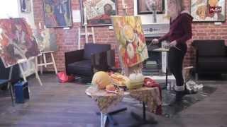 "Мой мастер класс для галереи ""Мольберт""/ My master class for the gallery ""Molbert&quo"