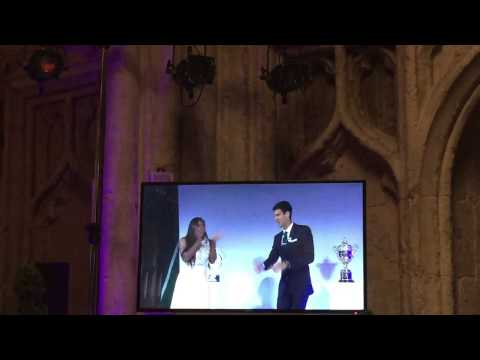 Serena Williams And Novak Djokovic Played Doubles On The Dance Floor