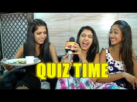 Quiz time with Niti, Krissan and Charlie From the