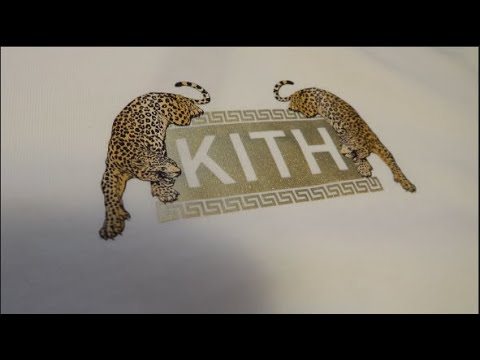 Kith x Versace Off White Jaguar Tee Review and Sizing!!