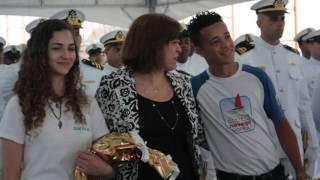 Em comemoração ao dia do marinheiro 13/12, aconteceu na data de ontem na Capitania dos Portos - Marinha do Brasil em Santos uma cerimônia com ...
