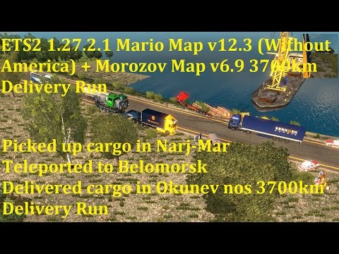 Mario Map  (without America) v12.3