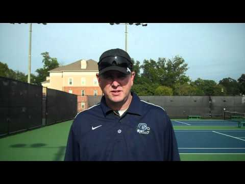 Steve Barsby - Men's Tennis Fall Championships Day 1