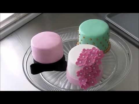 Mini cakes designs снимок