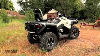 2. 2013 Can-Am Outlander MAX 1000 Limited vs. 2013 Polaris Sportsman Touring 850 EPS