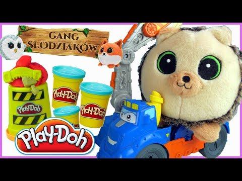 Play Doh & Przygody Gangu Słodziaków • Jeż Jerzyk i Maszyna Budowniczego • bajki dla dzieci