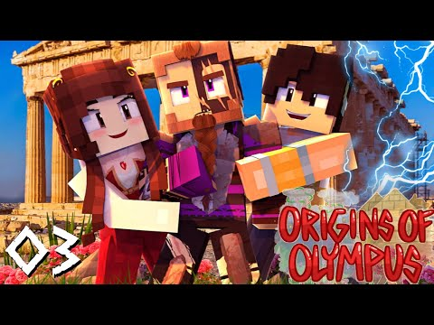 Origins of Olympus #3 - THEY THOUGHT I WAS DEAD? Well... (Percy Jackson Minecraft Roleplay)