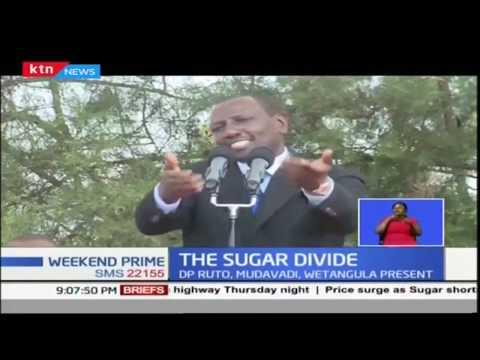 Leaders including DP William Ruto lock horns sugar in Kakamega