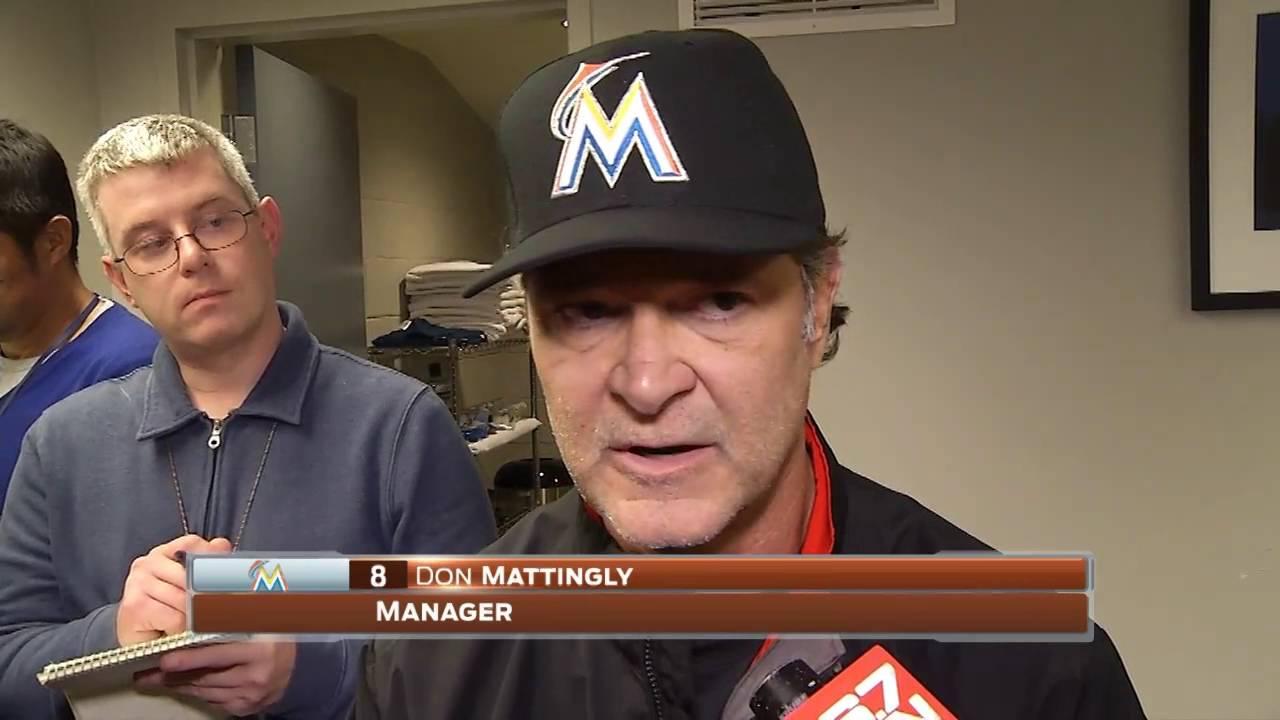 Don Mattingly — Miami Marlins at Washington Nationals 09/30/2016