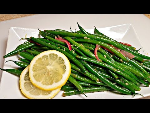 GARLIC GREEN BEANS RECIPE | How To Make Green Beans