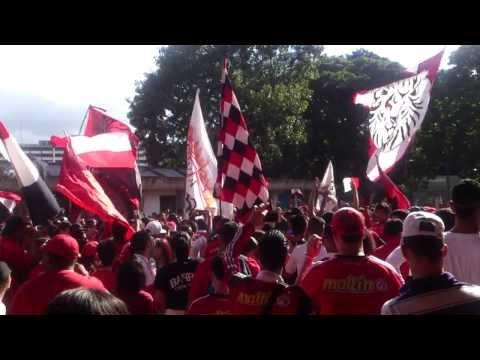 LOS DEMONIOS ROJOS | Caracas FC vs Tachira 24-11-13 | TA2013 | 1/2 - Los Demonios Rojos - Caracas