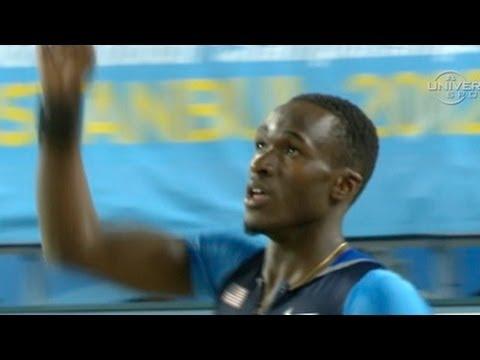M Triple Jump (USA goes 1 & 2 w/Claye & Taylor, World Indoors 2012)