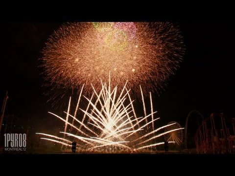 | HD | Feux d'artifice Montréal 2012 – Best of Japon/Japan (Feuerwerk, fireworks)