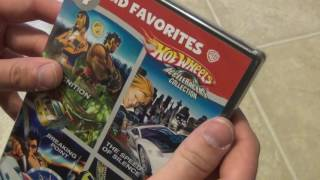 An unboxing of the Hot Wheels Acceleracers DVD collection. This is a 4 Kids Favorites pack with four titles included in one package!