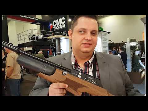 2018 Shot Show - 2018 Theoben Air Rifles - Now Made in the USA
