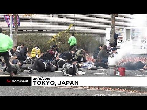 Μεγάλη αντιτρομοκρατική άσκηση στο Τόκιο ενόψει Ολυμπιακών Αγώνων…