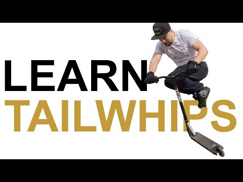 Guy Attempts to Learn How to Tailwhip a Scooter