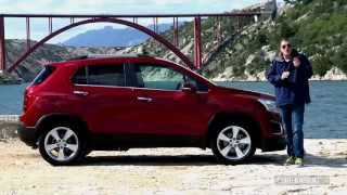 Essai Chevrolet Trax - YouTube