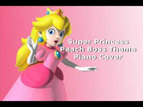 Super Princess Peach - Boss (Piano Cover)
