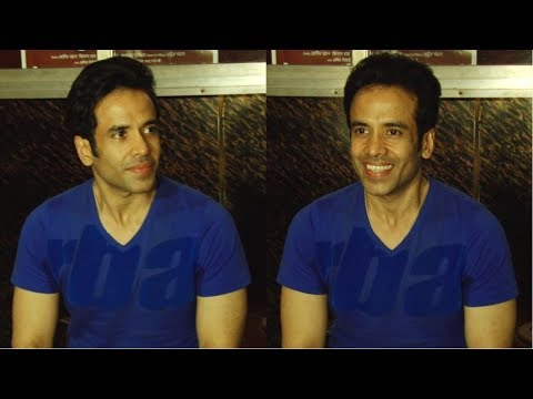 Tusshar Kapoor Visit Gaiety Cinema For Film 'Golmaal Again'