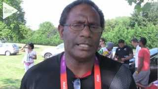 The London Olympic Games are now drawing to a close, and the athletes of Vanuatu take a trip to a theme park, Thorpe Park,...