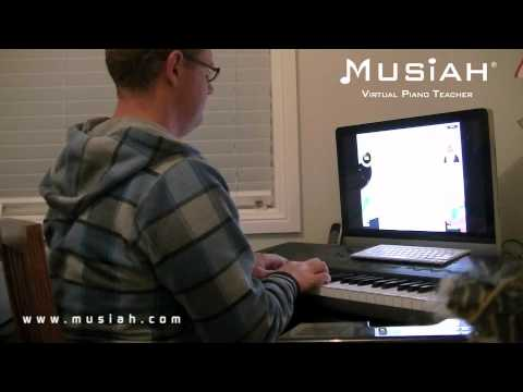 Piano Video: Online Piano Lessons Song #64 In The Hall Of The Mountain King played by Leigh