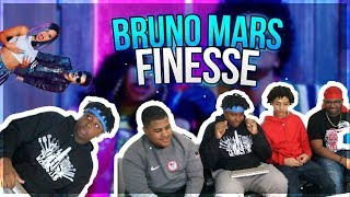 Video Bruno Mars - Finesse (Remix) [Feat. Cardi B] [Official Video] *REACTION* MP3, 3GP, MP4, WEBM, AVI, FLV Januari 2018