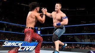 Video John Cena vs. Shinsuke Nakamura: SmackDown LIVE, Aug. 1, 2017 MP3, 3GP, MP4, WEBM, AVI, FLV Juni 2018