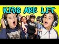 KIDS REACT TO KIDS ARE LIT DANCE COMPILATION waptubes