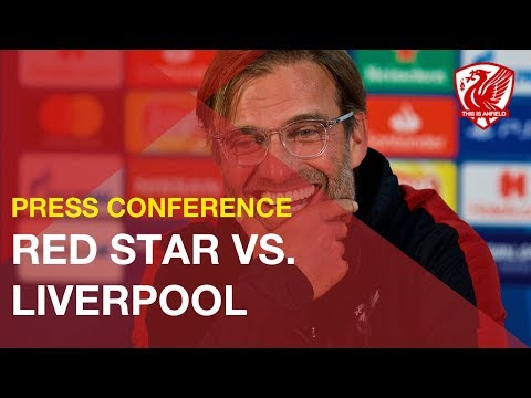 Jurgen Klopp's Press Conference | Red Star Vs. Liverpool (Champions League)