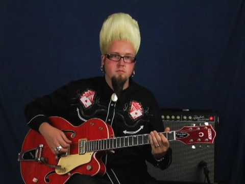 Learn how to play electric guitar easy renegade biker rockabilly blues rhythm