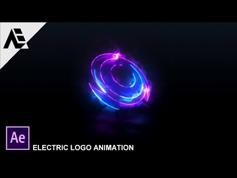 "After Effects Tutorial: Electric Logo Animation In After Effects ""SABER Plugin"""