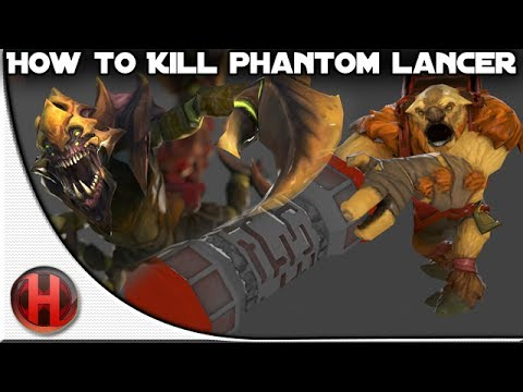 Dota 2 How to kill Phantom Lancer