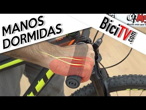 Cómo evitar que se duerman las manos montando en bicicleta