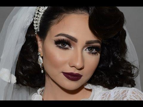 مكياج عروس للبشرة البيضاء مع فاطمة الدوسري (видео)