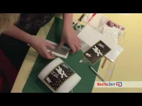 Bastelzeit TV 52 - Weihnachtliche Kerzen selbst gemacht