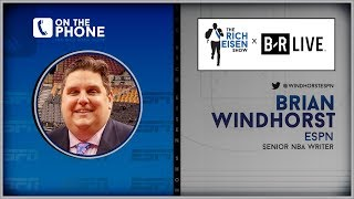 Video ESPN's Brian Windhorst Talks Anthony Davis to Lakers Trade w/Rich Eisen | Full Interview | 6/17/19 MP3, 3GP, MP4, WEBM, AVI, FLV Juni 2019