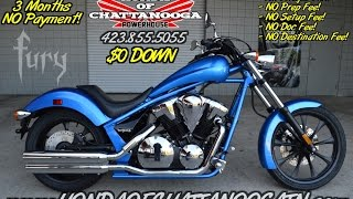 6. 2016 Honda Fury 1300 Review of Specs - Chopper / Cruiser Motorcycle SALE @ Honda of Chattanooga