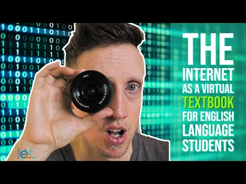 The Internet as a Virtual Textbook for English Language Students
