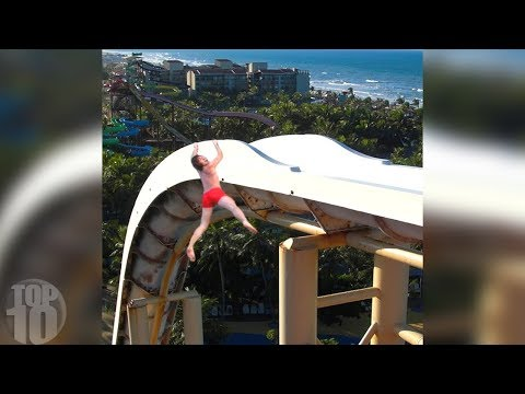 Video 10 People Who FELL Off Waterslides! download in MP3, 3GP, MP4, WEBM, AVI, FLV January 2017