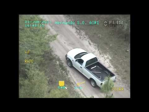 Hernando County Sheriff's Office Air Unit Assists in Capture