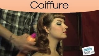 Look : Faire Une Coiffure Pin Up