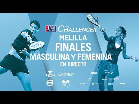 Finales Femenina y Masculina WPT Challenger Melilla 2018