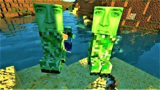 Video I Put Nicolas Cage In My VR Minecraft World MP3, 3GP, MP4, WEBM, AVI, FLV September 2019