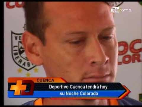 Deportivo Cuenca tendrá hoy su Noche Colorada