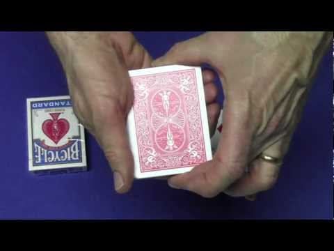 Cards - Open and Reseal a deck of cards and create some of the most amazing mind blowing card tricks. This tutorial shows an Amazing easy variation of the Lucky Back...